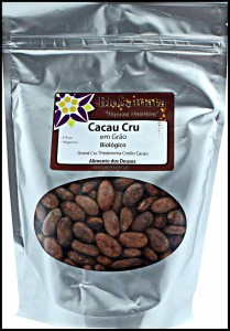 graines de cacao crues