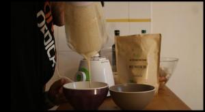 préparation crème amande