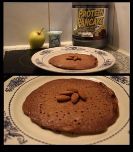 préparation pancake protéiné 12