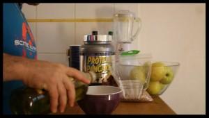 préparation pancake protéiné 4