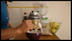 préparation pancake protéiné 5