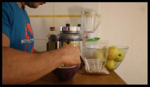 préparation pancake protéiné 7