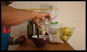 préparation pancake protéiné 8