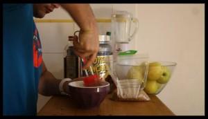 préparation pancake protéiné 9