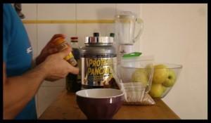 préparation recette pancake protéiné 3