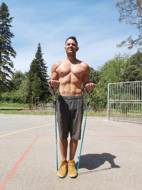 élastiques musculation